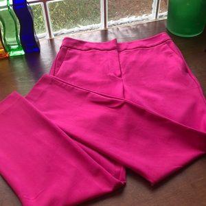 Boden Hot Pink Long Pants Size 8